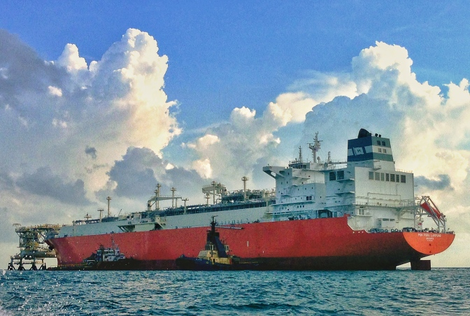 Indonesia's efforts at supplying natural gas needs to its earthquake prone